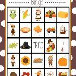 Free Printable Thanksgiving Bingo Game | Craft Time | Pinterest   Thanksgiving Games Printable Free
