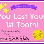 Free Printable Tooth Fairy Certificate   Another Mum Fights The Dust   Free Printable Tooth Fairy Certificate