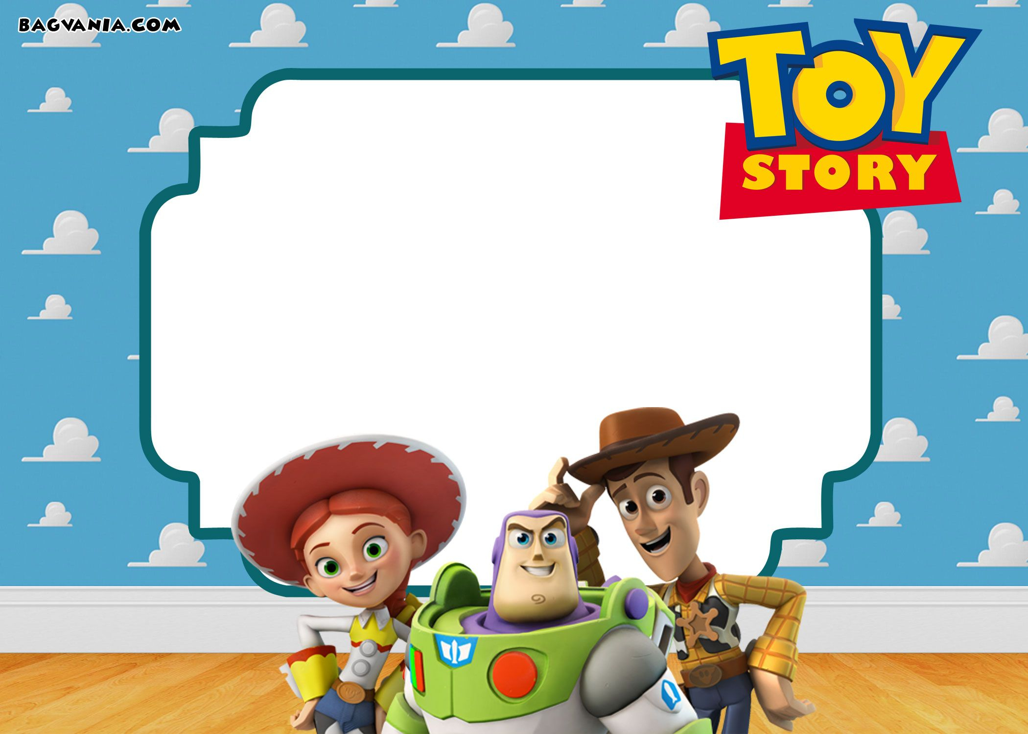 Free Printable Toy Story 3 Birthday Invitations | Free Printable - Toy Story Birthday Card Printable Free
