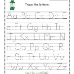 Free Printable Traceable Letters Free Printable Preschool Letter   Free Printable Preschool Worksheets Tracing Letters