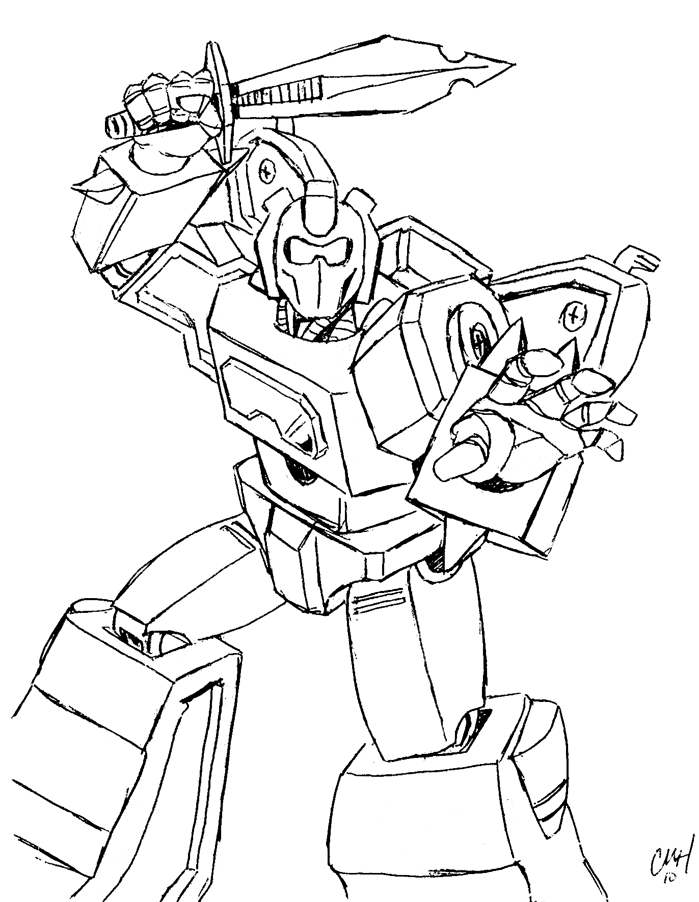 Free Printable Transformers Coloring Pages For Kids | Värityskuvia - Transformers 4 Coloring Pages Free Printable