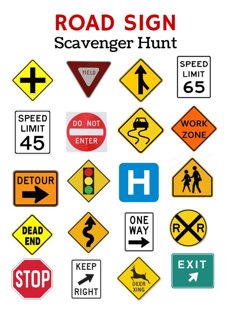 Free Printable Travel Games For Kids - Free Printable Car Bingo
