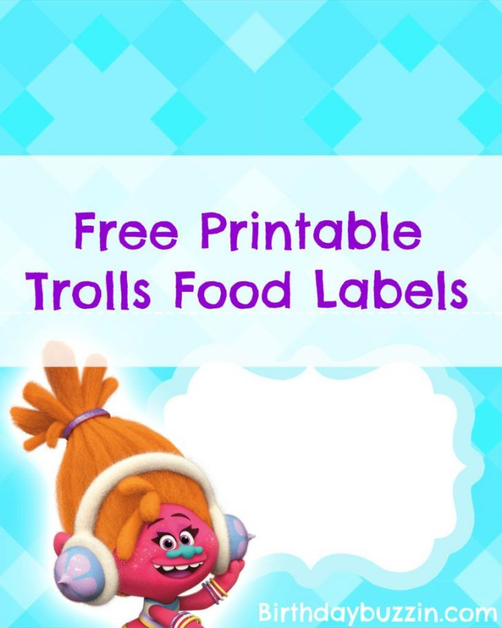 Free Printable Trolls