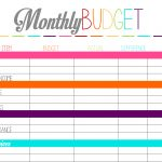 Free Printable Tuesday: Budget Planning Worksheets – Ally Jean Blog   Free Printable Budget Planner