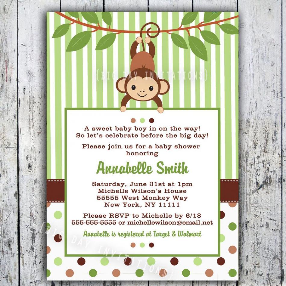 Free Printable Turtle Baby Shower Invitations Unique Mod Monkey - Free Printable Turtle Baby Shower Invitations