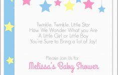 Free Printable Twinkle Twinkle Little Star Baby Shower Invitations
