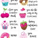 Free Printable Valentine Cards For Kids   Sarah Titus   Free Printable Valentines Day Cards Kids