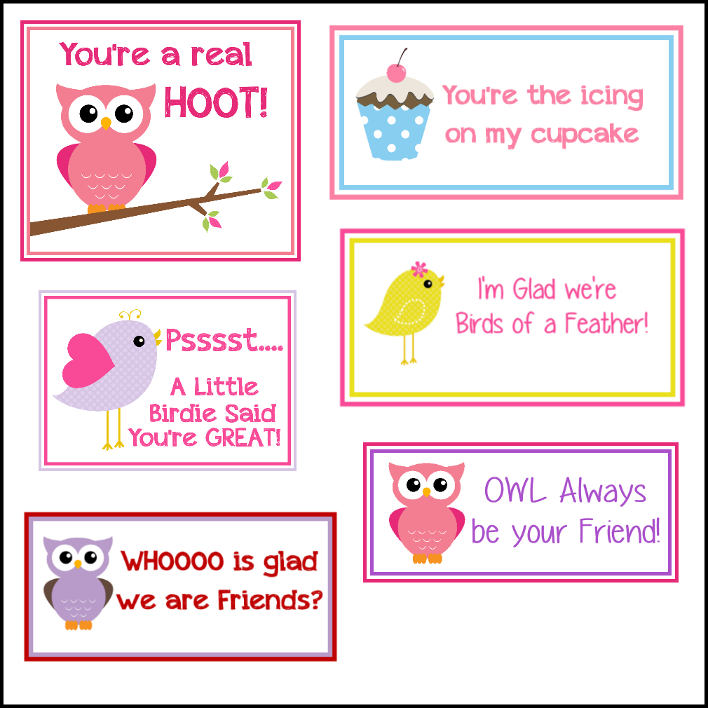 Free Printable Valentine's Cards (A Lot Of Them | Diy-Owl Printabes - Free Printable Valentines For Kids