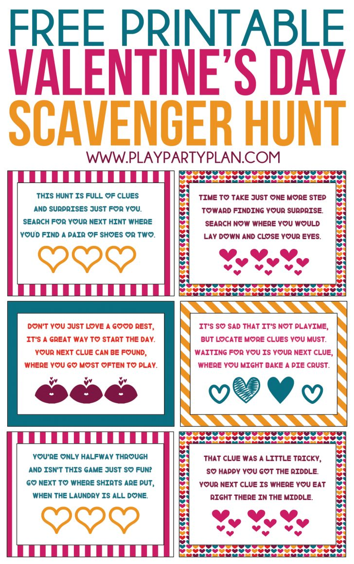 Free Printable Treasure Hunt Games