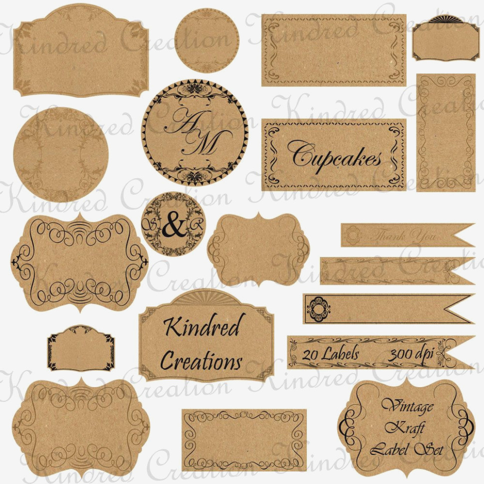 Free Printable Vintage Paper Label Tags | Halloween | Pinterest - Free Printable Old Fashioned Labels