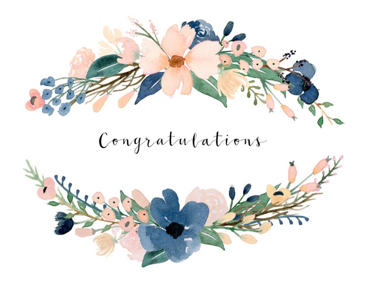 Free, Printable Wedding Cards That Say Congrats - Wedding Wish Cards Printable Free