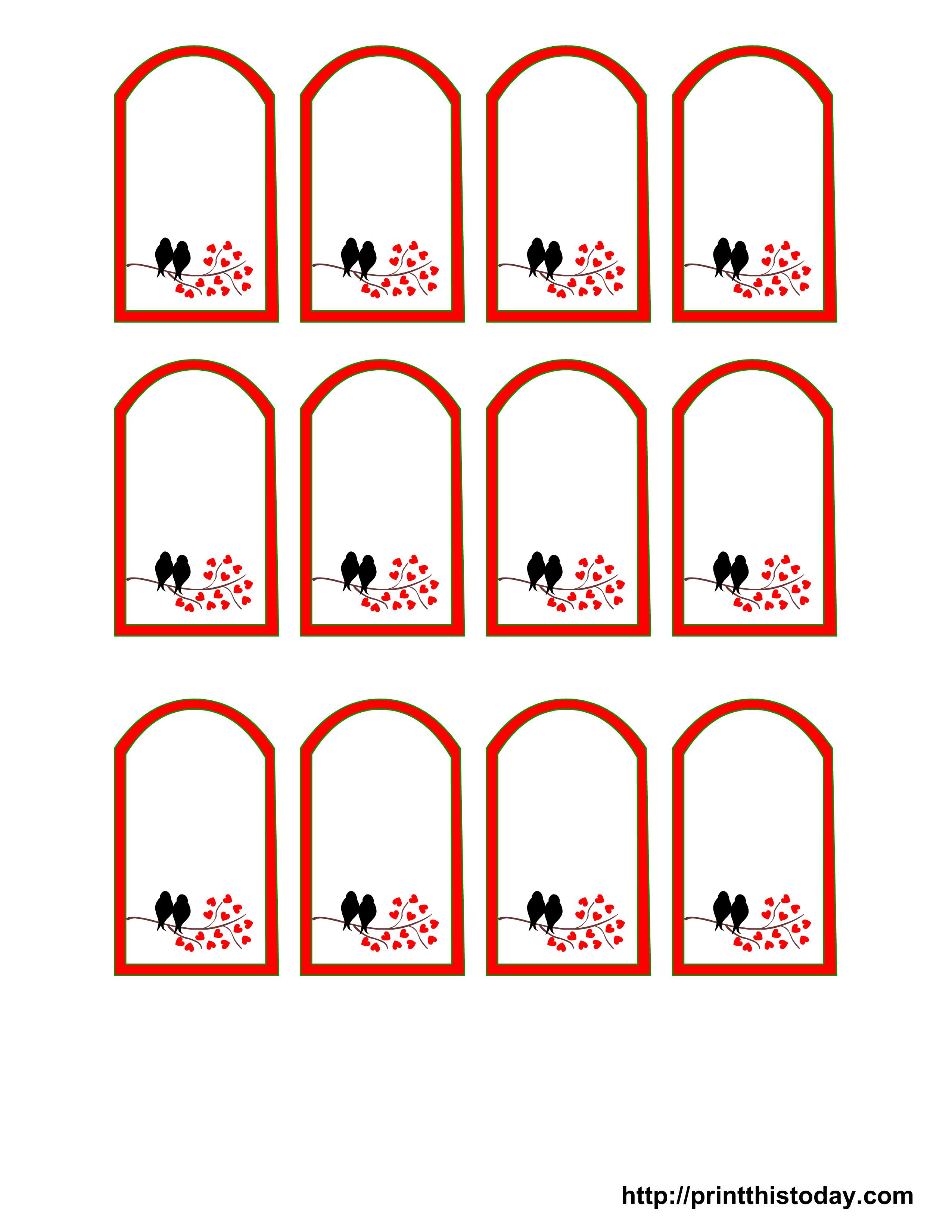 Free Printable Wedding Favor Tags - Free Printable Wedding Favor Tags