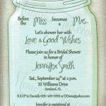 Free Printable Wedding Invitations Mason Jars   Rustic Wedding Ideas   Free Mason Jar Wedding Invitation Printable Templates