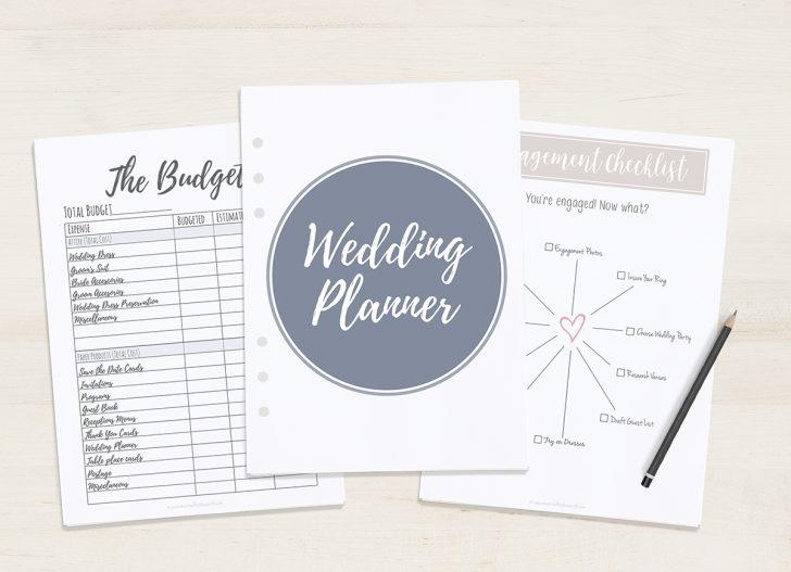 Free Printable Wedding Planner Book Online
