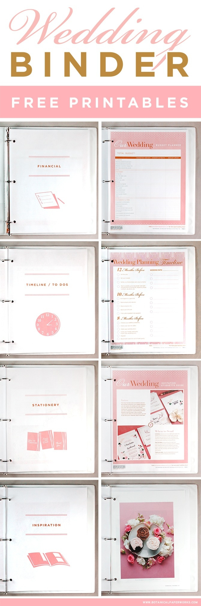 Free Printable Wedding Planner Book | Bestprintable231118 - Free Printable Wedding Planner Book