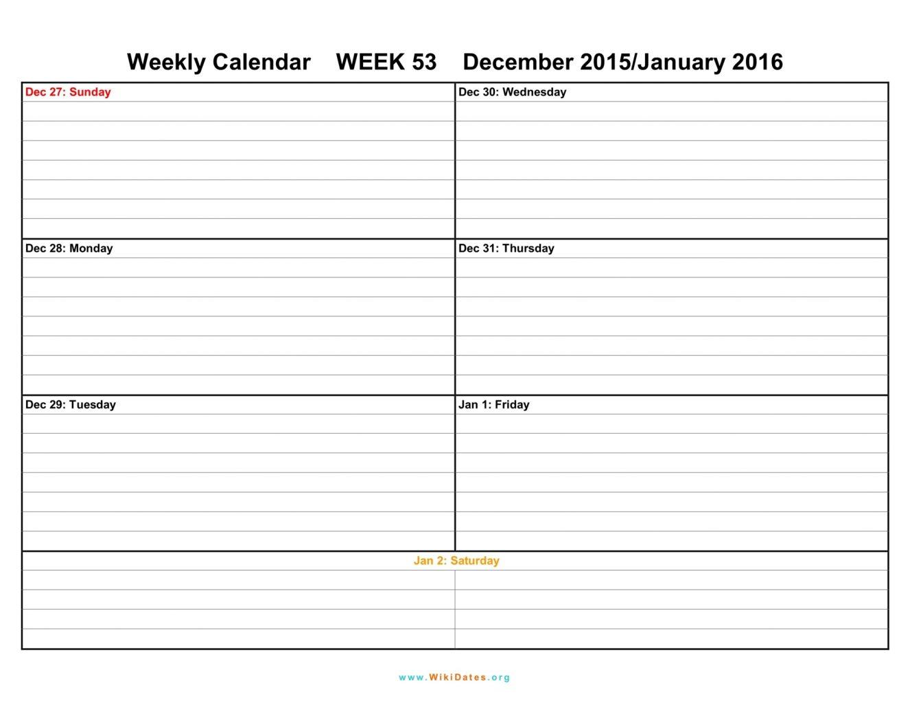 Free Printable Weekly Calendar Tes Blank June Schedule | Smorad - Free Printable Weekly Planner 2017