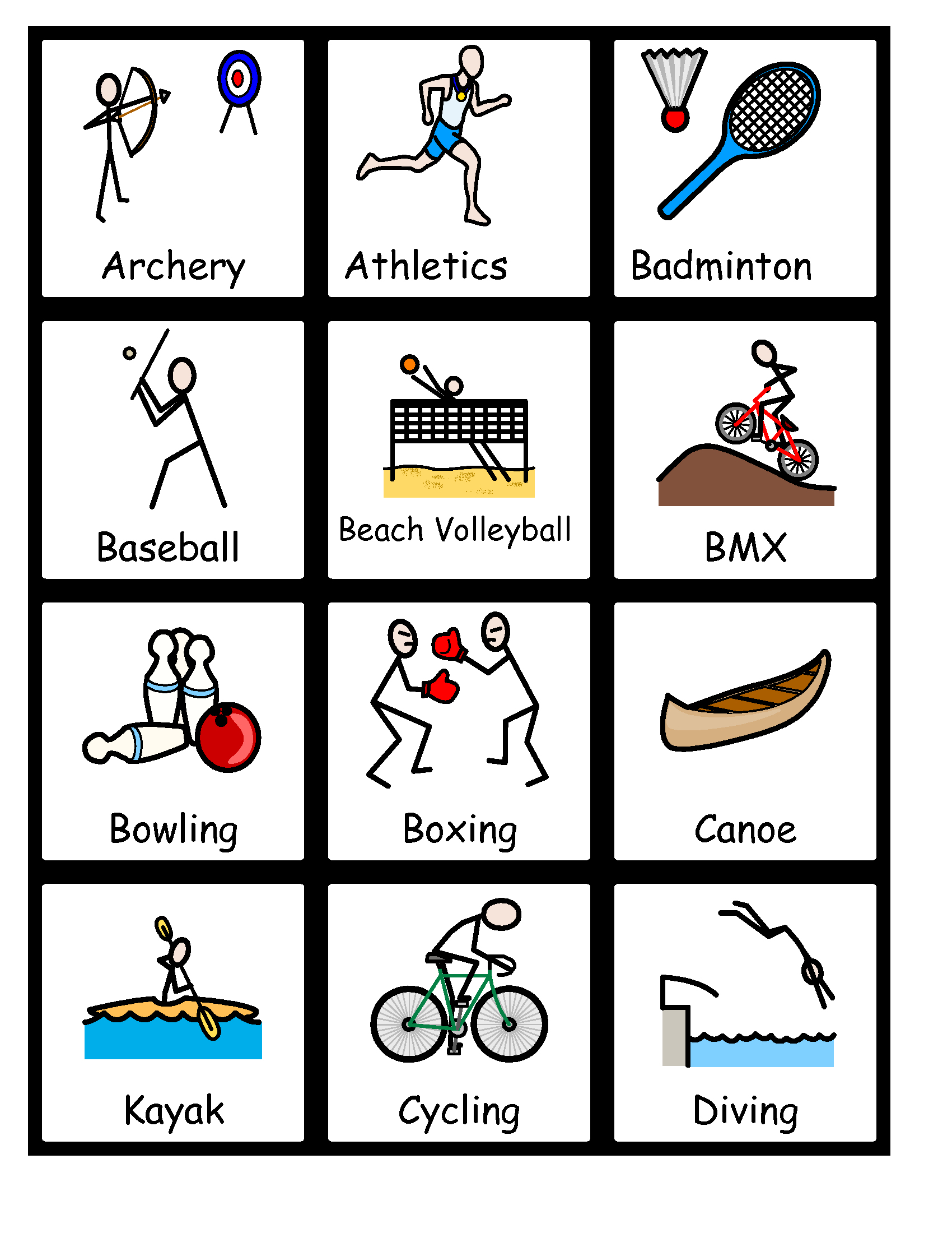 Free Printable Widgit Symbols – Ezzy - Free Printable Widgit Symbols