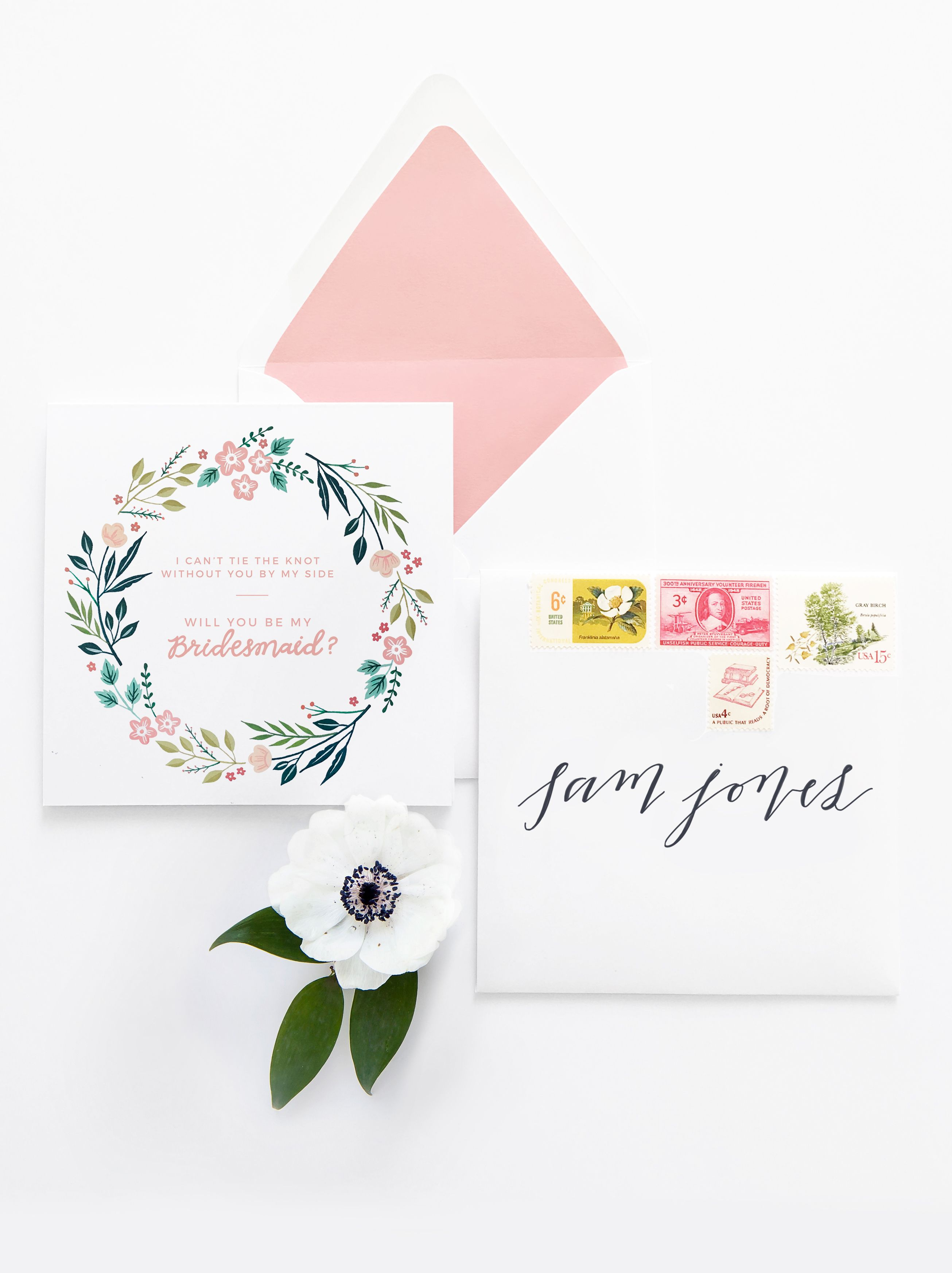 Free Printable - Will You Be My Bridesmaid Card   Pinterest   Free - Free Printable Will You Be My Bridesmaid Cards