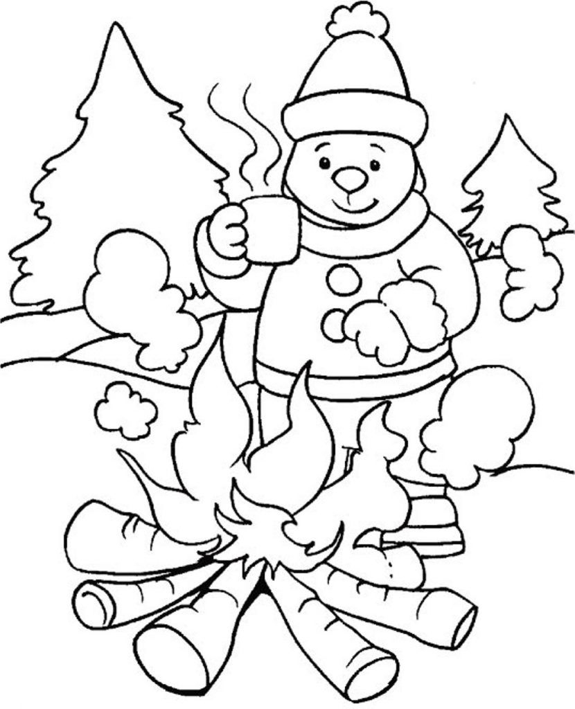 Free Printable Winter Coloring Pages For Kids | Seasons Coloring - Free Printable Winter Coloring Pages
