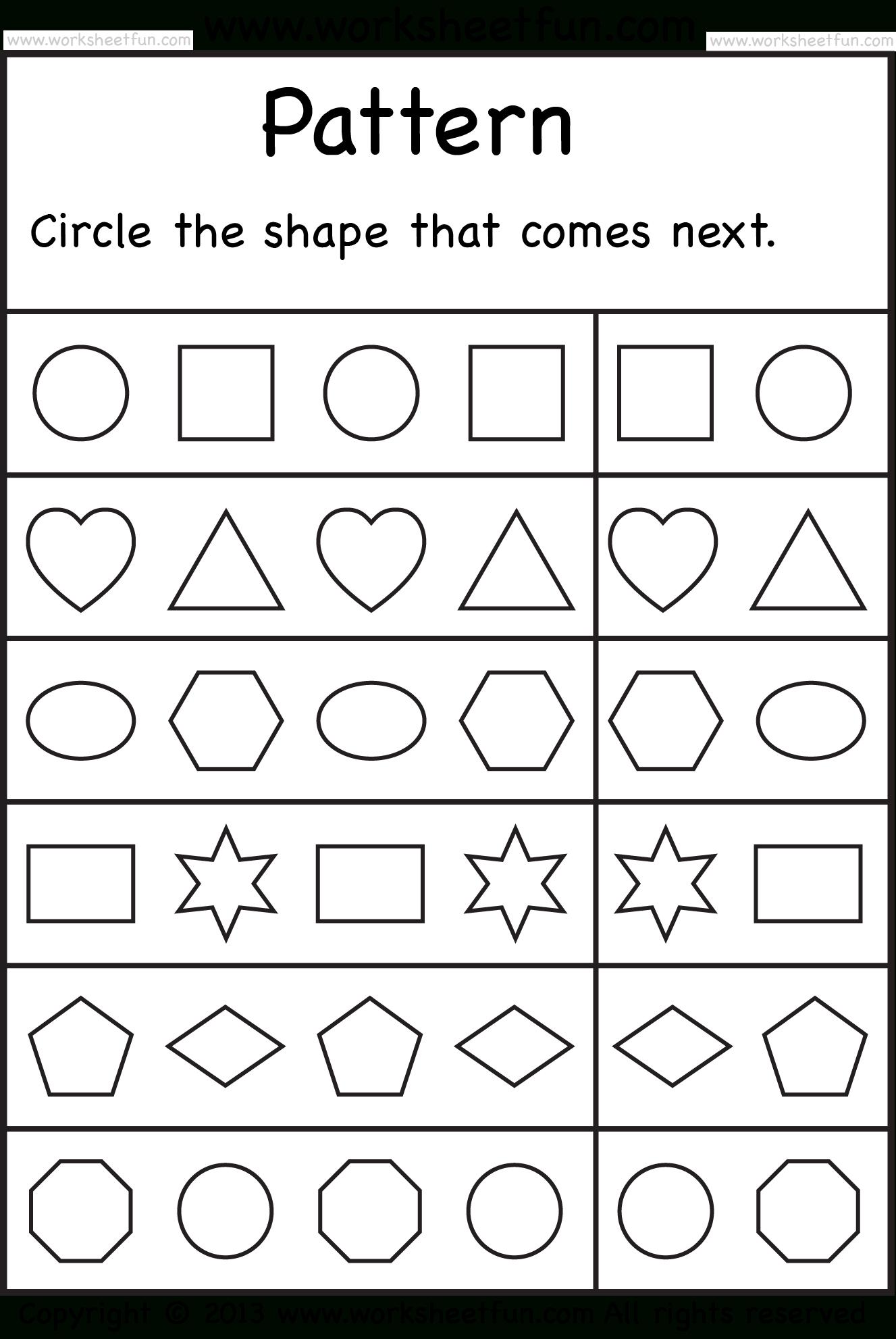 Free Printable Worksheets – Worksheetfun / Free Printable - Free Printable Worksheets For Kindergarten