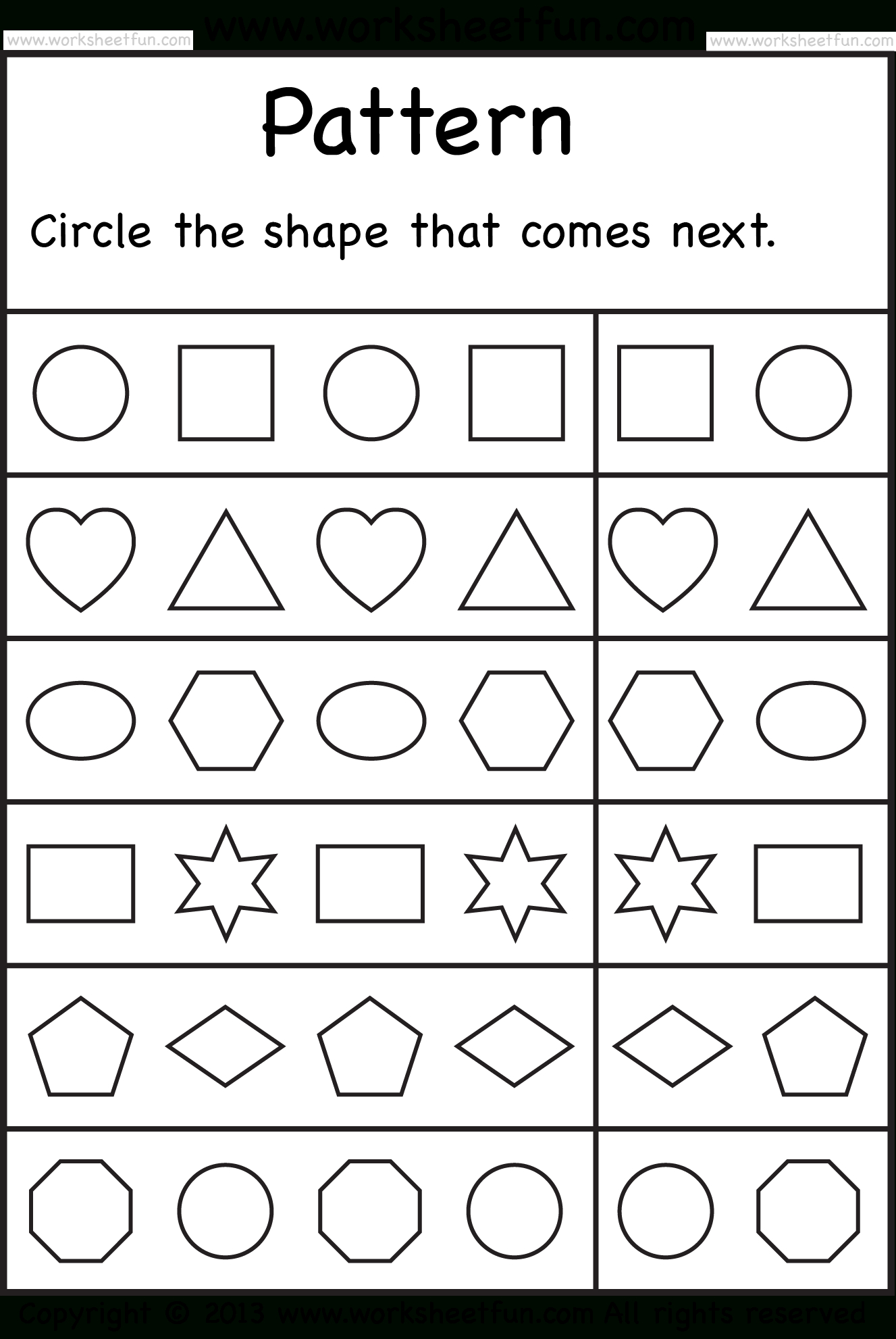 Free Printable Worksheets – Worksheetfun / Free Printable  | Pre - Free Printable Activities