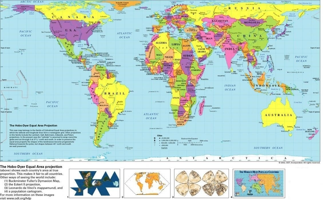 Free Printable World Map With Countries   World Map With Countries - Free Printable World Map With Countries Labeled