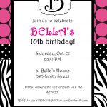 Free Printable Zebra Print Invitations Baby Shower | Emma   Free Printable Zebra Baby Shower Invitations