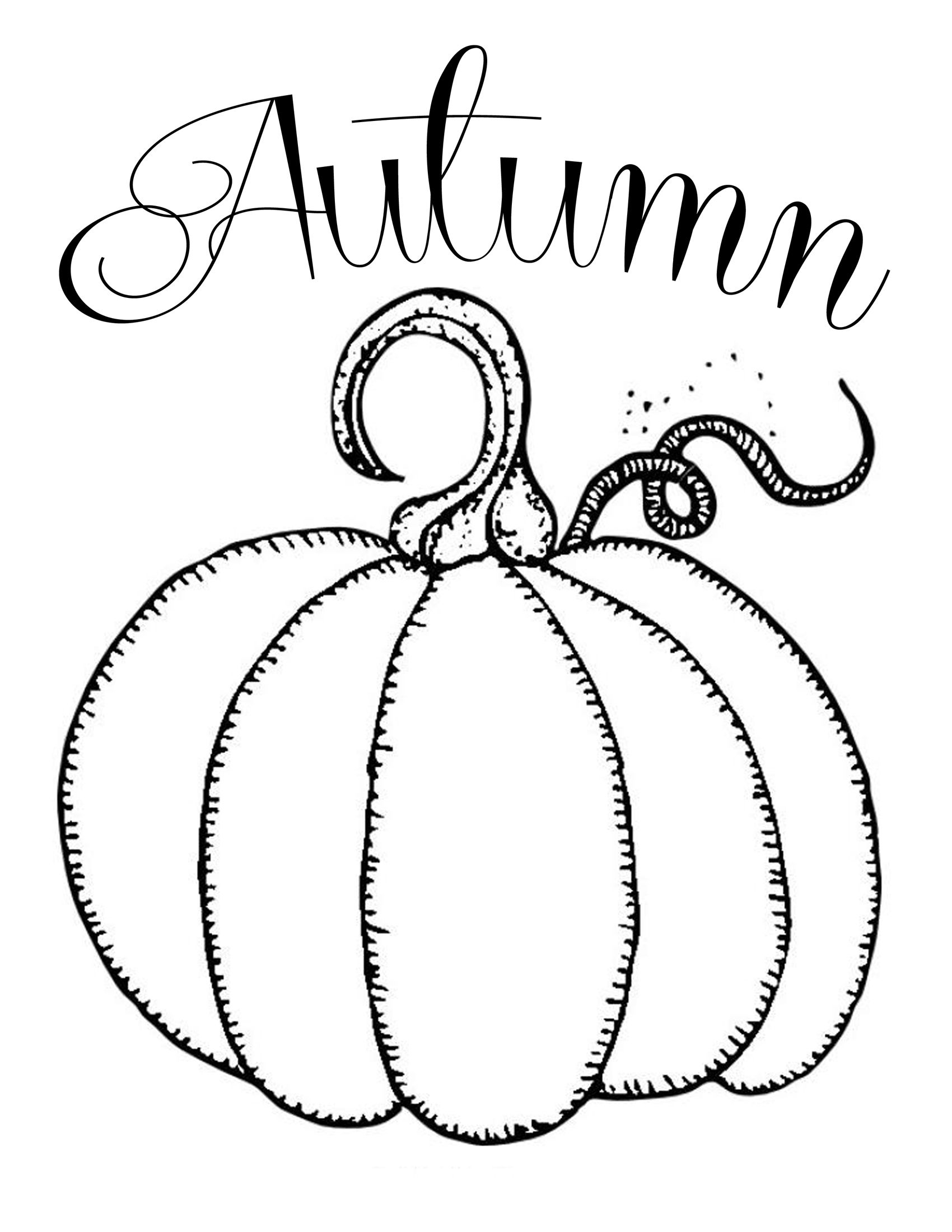 Free Printables ~ Chalkboard Autumn Pumpkin | Fonts And Printables - Free Printable Pumpkin Books