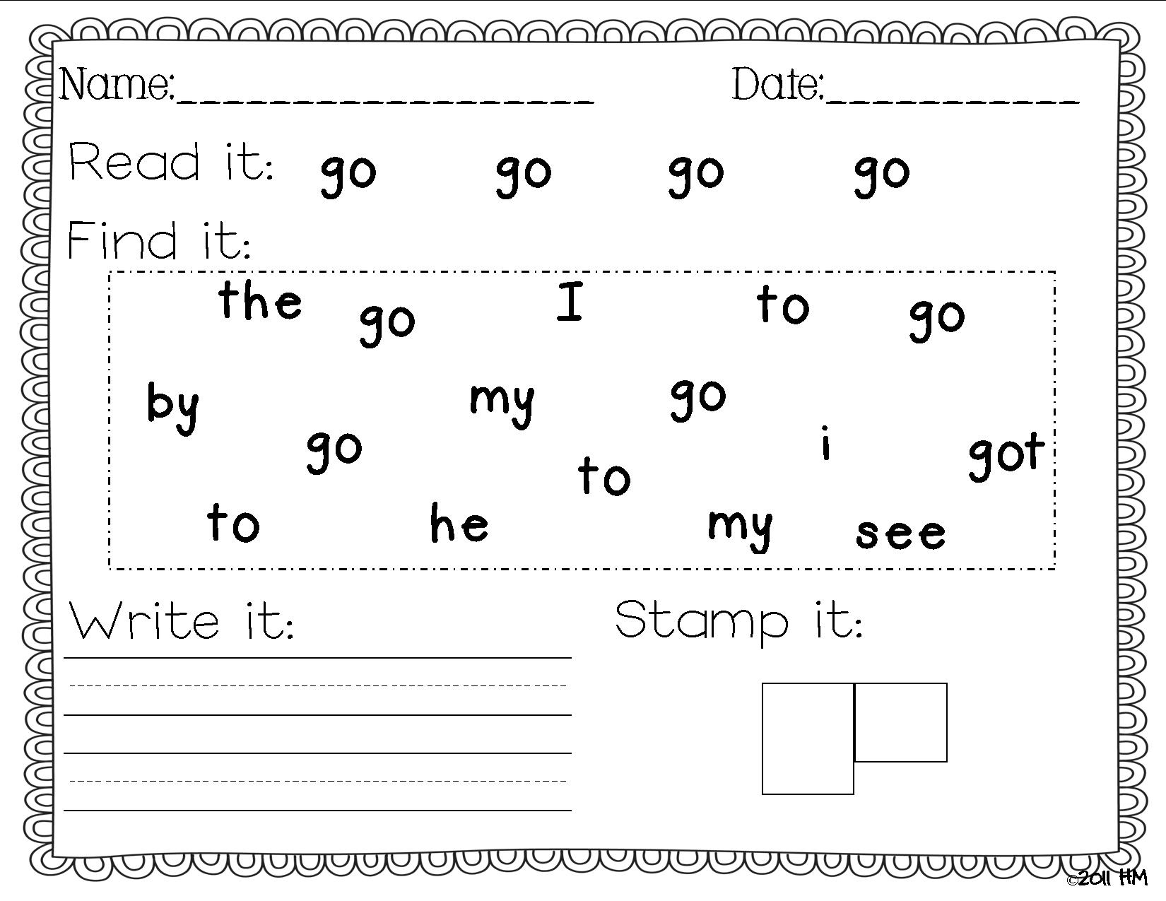 Free Printables For Kindergarten – With Lesson Also Homework - Preschool Writing Worksheets Free Printable