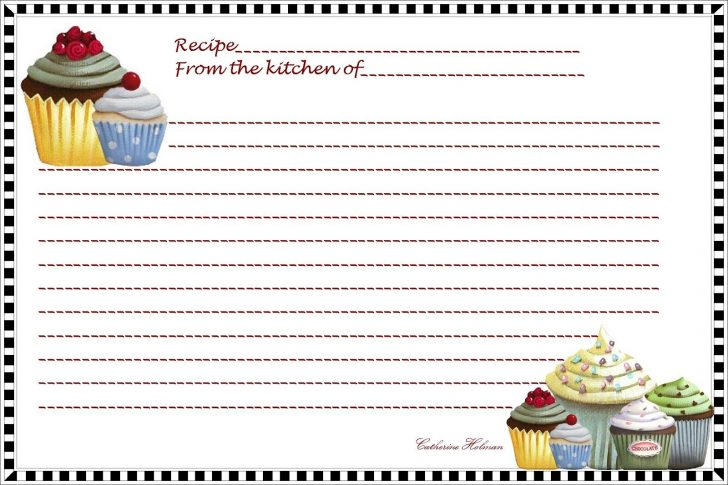 Free Printable Index Cards