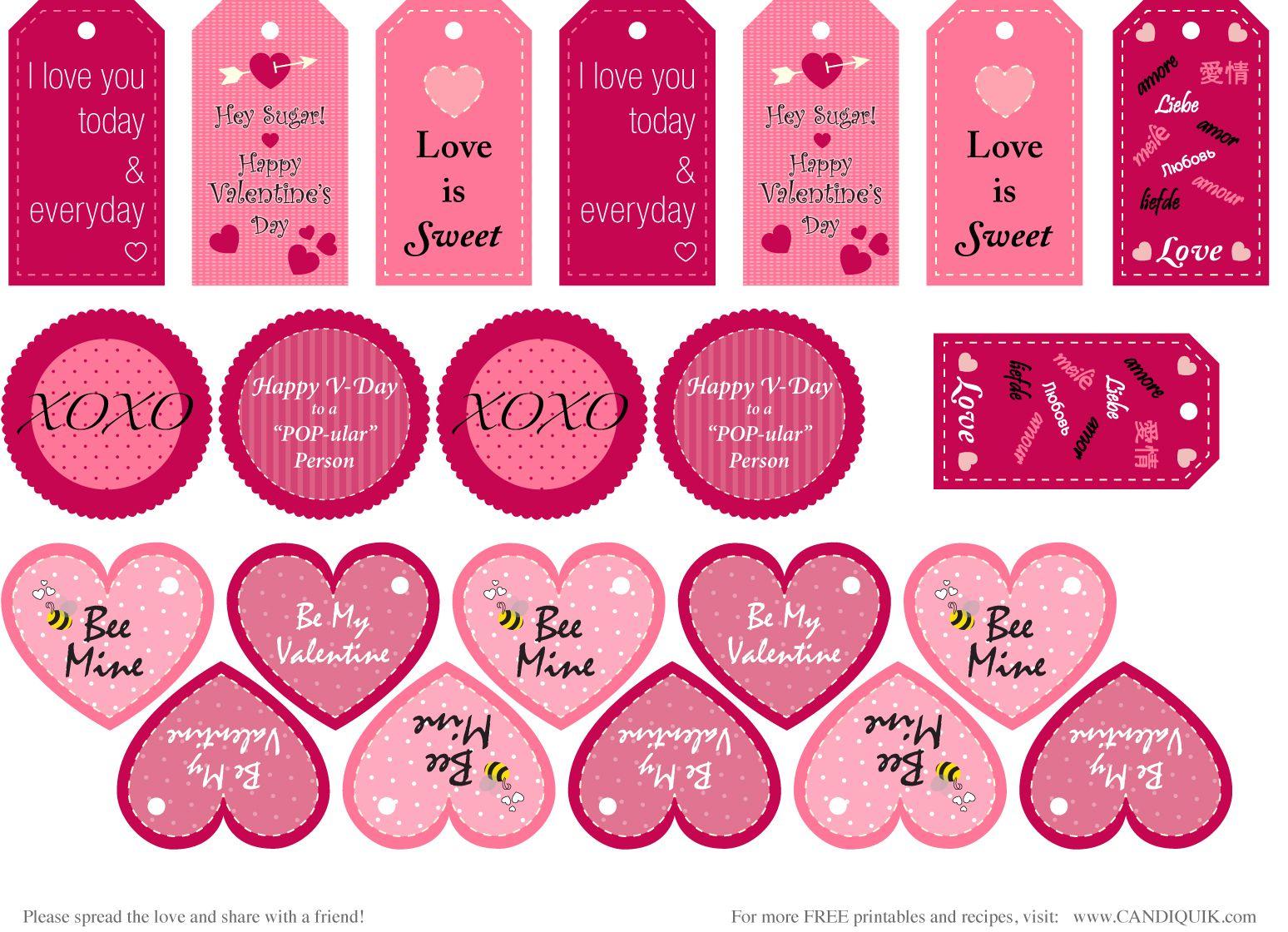 Free} Printables   Valentines   Pinterest   Valentine's Day - Free Printable Valentine Graphics
