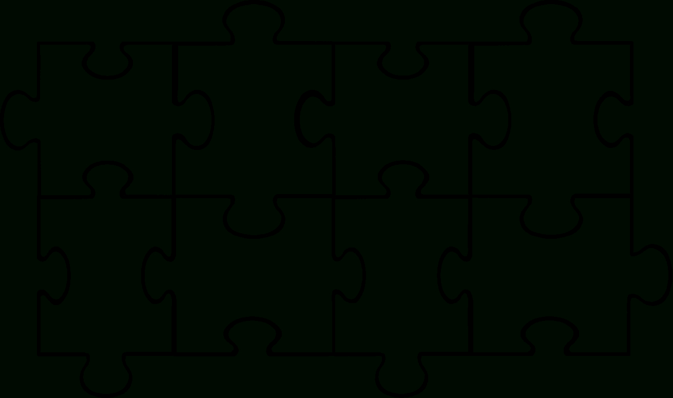 Free Puzzle Pieces Template, Download Free Clip Art, Free Clip Art - Free Printable Blank Puzzle Pieces