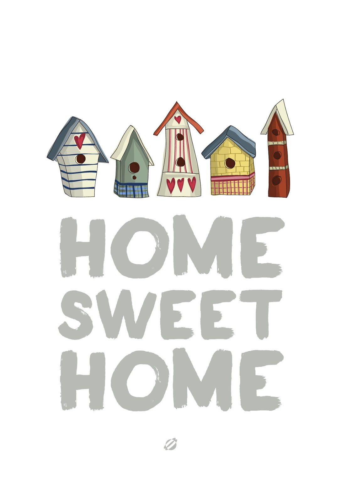 Free Quote Printable: Home Sweet Home / Lostbumblebee | Home Sweet - Home Sweet Home Free Printable