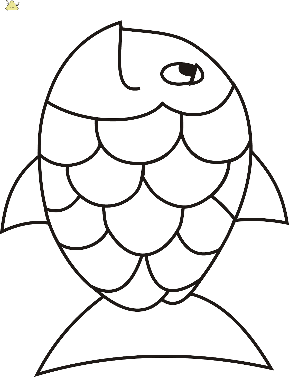 Free Rainbow Fish Template - Pdf   2 Page(S)   Page 2   Vbs - Free Printable Sea Creature Templates