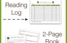 Free Reading Log & Book Report Form – My Joy-Filled Life – Free Printable Book Report Forms