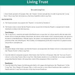 Free Revocable Living Trust   Create, Download, And Print | Lawdepot   Free Printable Will And Trust Forms