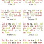 Free Scripture Cards Printable   And Other Printables | Printables   Free Printable Bible Verse Cards
