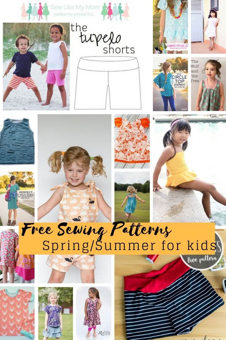 Free Sewing Patterns For Kids Spring/summer 2018 - Life Sew Savory - Free Printable Sewing Patterns For Kids