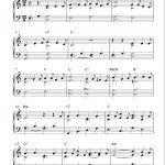 Free Sheet Music Scores: Free Easy Christmas Piano Sheet Music, O   Free Christmas Sheet Music For Keyboard Printable