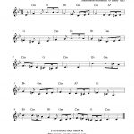 Free Sheet Music Scores: Greensleeves, Free Trumpet Sheet Music   Free Printable Sheet Music For Trumpet