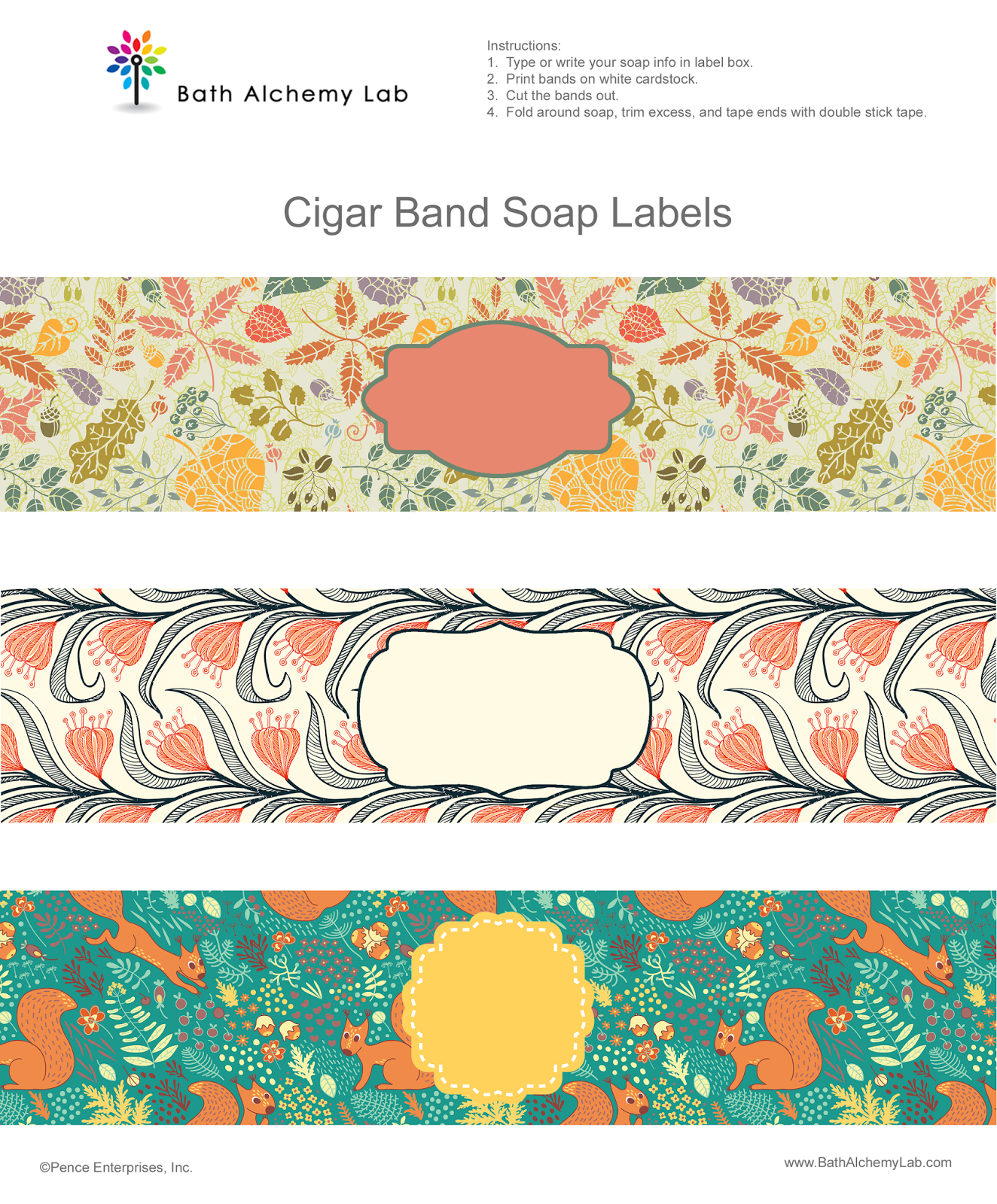 Free Soap Cigar Band Soap Wrappers Printables | Making Soap | Soap - Free Printable Cigar Label Template