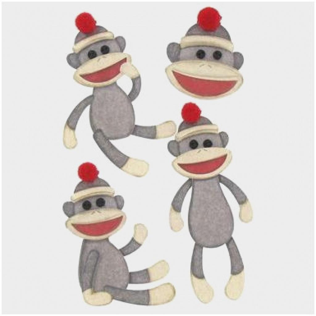 Free Sock Monkey Printables Great Sock Monkey Svg – Template Word - Free Printable Sock Monkey Clip Art