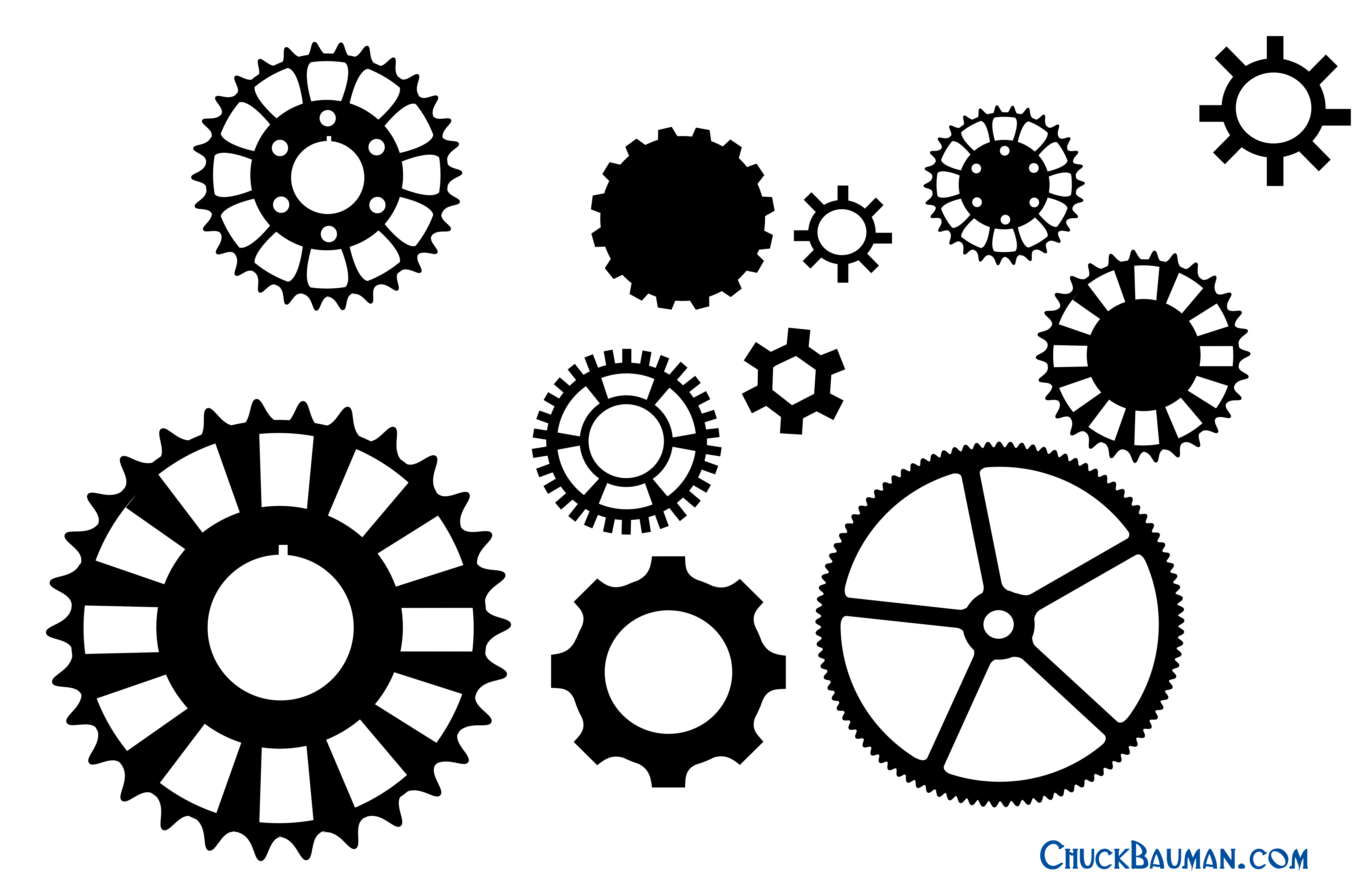 Free Steampunk Gear Cliparts, Download Free Clip Art, Free Clip Art - Free Printable Gears