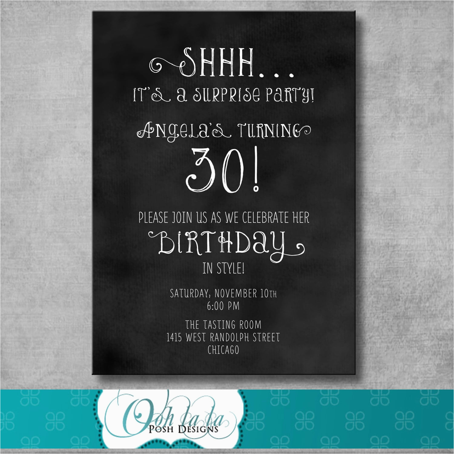 Free Surprise Birthday Party Invitations Free Printable Surprise - Free Printable Surprise Party Invitation Templates