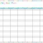Free Templates: Monthly Menu Planners ~ The Housewife Modern   Free Printable Monthly Meal Planner