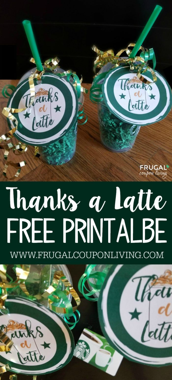 Free Thanks A Latte Printable | Teacher Gifts | Pinterest | Teacher - Thanks A Latte Free Printable Tag