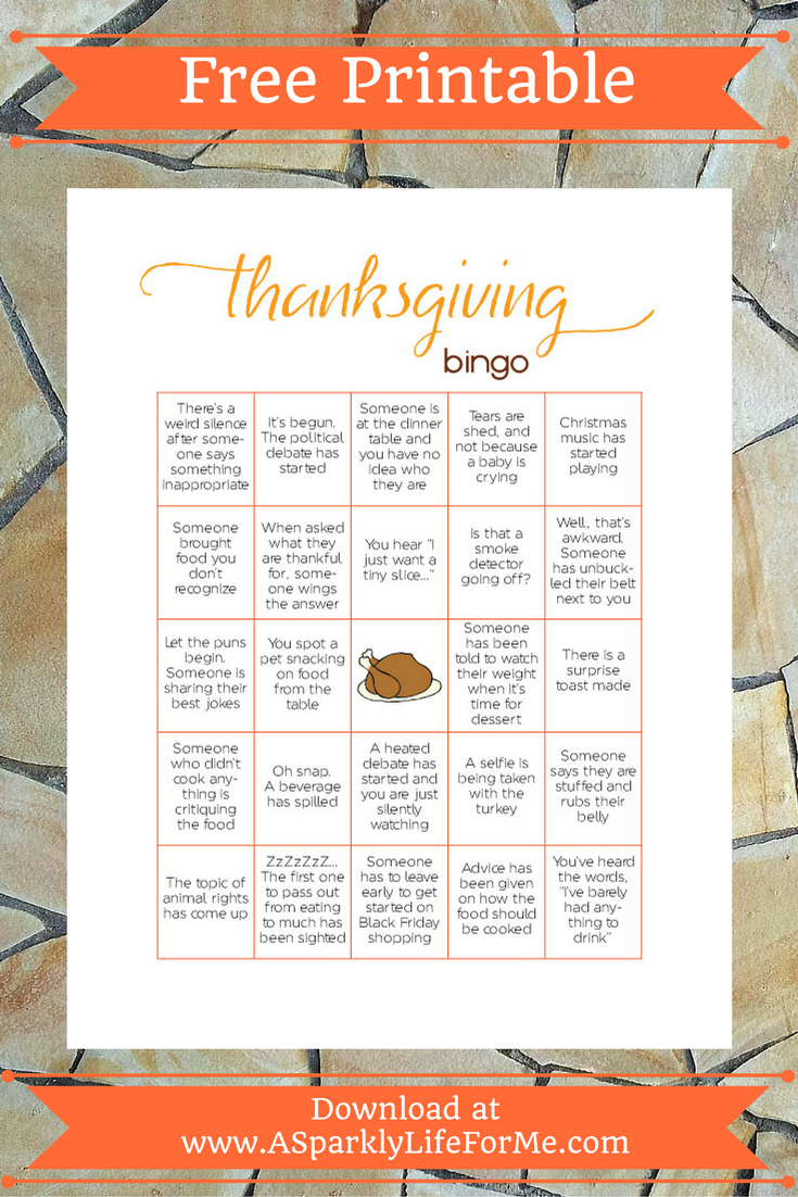 Free Thanksgiving Bingo Game Printable For Adults | Autumn * Fall - Free Printable Thanksgiving Games For Adults
