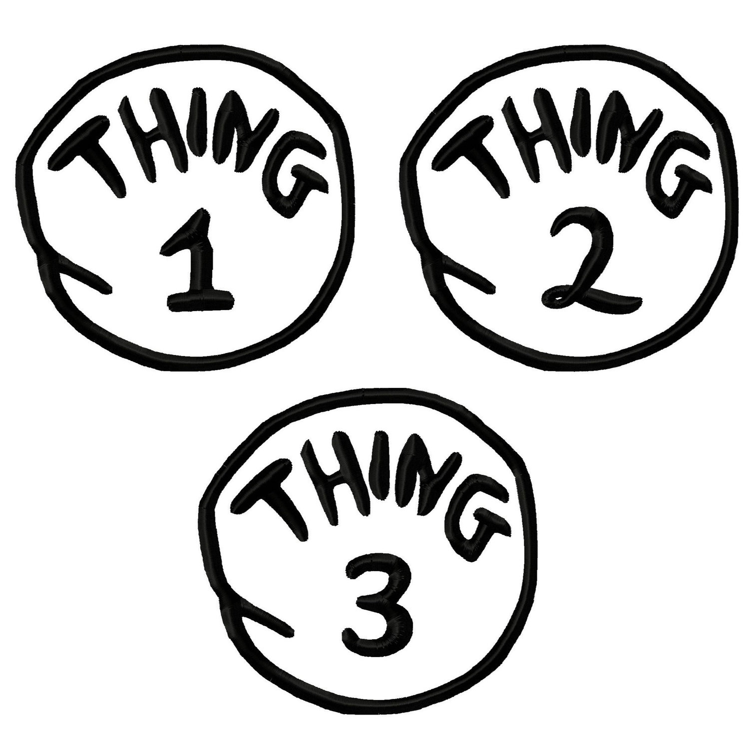 Free Thing 1 Cliparts, Download Free Clip Art, Free Clip Art On - Thing 1 And Thing 2 Free Printable Template