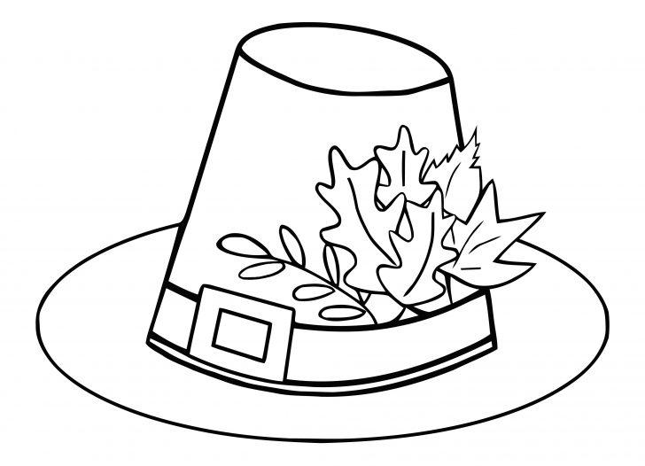 Free Printable Pilgrim Hat Pattern