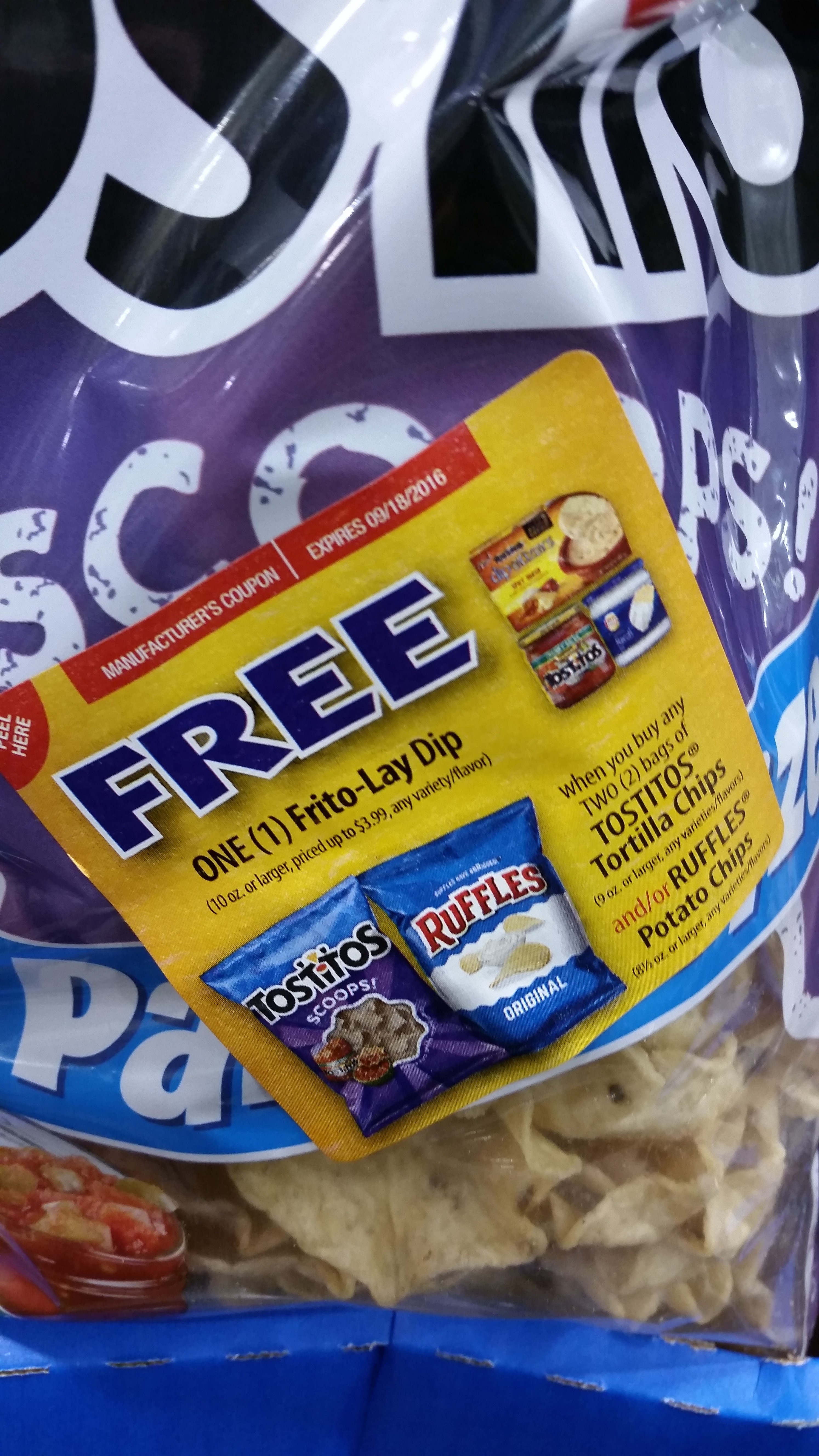 Free Tostitos Dip + Chips Deal At Harris Teeter - Free Printable Frito Lay Coupons